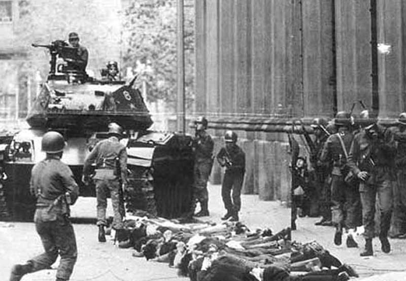 the chilean coup dtat of 1973 essay The 1973 chilean coup d'état was a watershed event in both the history of chile and the cold war following an extended period of social unrest and political tension between the opposition-controlled congress of chile and the socialist president salvador allende, as well as economic warfare ordered by us president richard nixon, allende was.