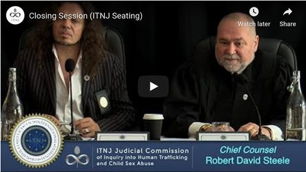"""Chief Counsel of Commission on Pedophilia"" for the ITNJ"
