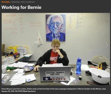 Simon Bracey-Lane working for Bernie Sanders.jpg
