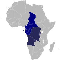 Members of the Economic Community of Central African States