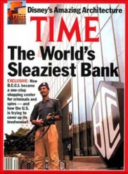 BCCI on the cover of Time, July 6, 1991.