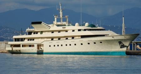 Khashoggi's Superyacht Kingdom 5KR, now owned by Prince Al-Waleed bin Talal