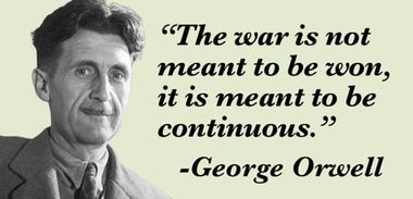 Perpetual war 1984 quote.jpg