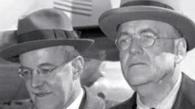 Allen and John Foster Dulles, pillars of both the state and the deep state.
