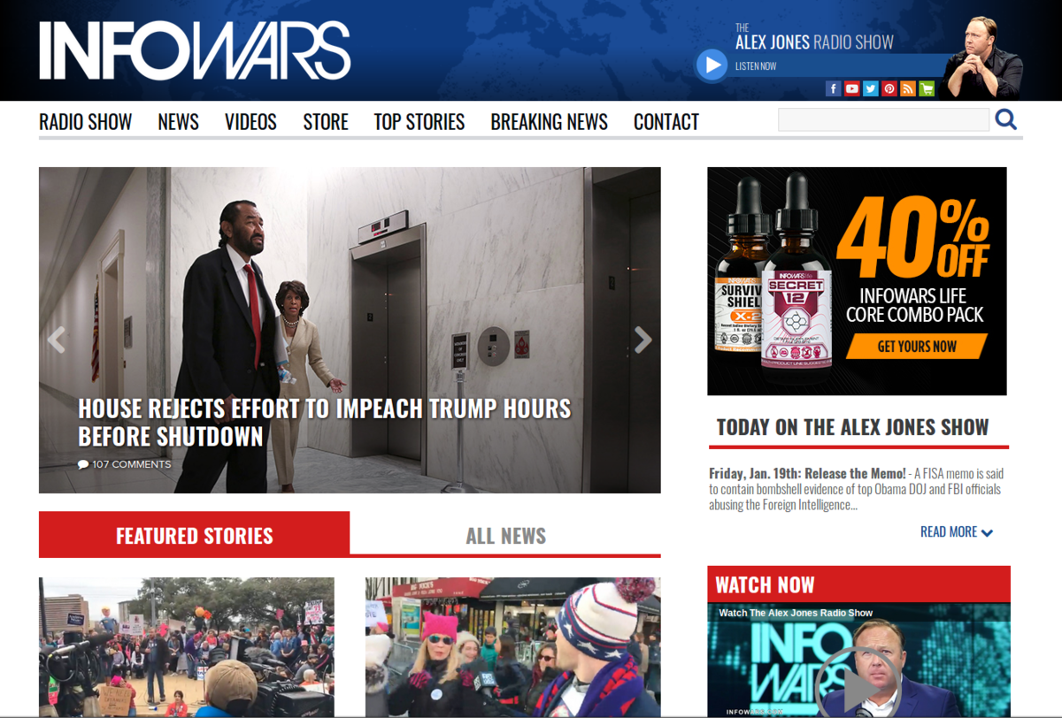 Infowars Article