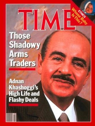 Adnan Khashoggi, shadowy backer of politicians (Time, Jan. 19, 1987)
